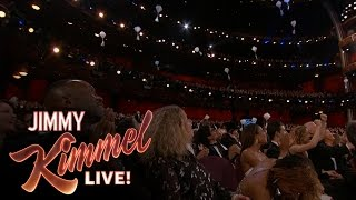Jimmy Kimmel Drops Candy for Celebrities at the Oscars