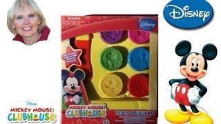 getlinkyoutube.com-♥♥ Mickey Mouse Clubhouse 15 piece Dough Kit
