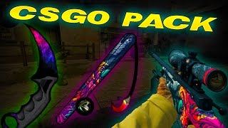 [1.8 NEW] BEST CS:GO Minecraft PvP Texture Pack - CS:GO -  COUNTER STRIKE: GLOBAL OFFENSIVE PACK
