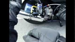 getlinkyoutube.com-アドレスV125ターボ ADDRESS Turbo Charger power