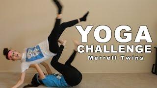 getlinkyoutube.com-YOGA CHALLENGE - Merrell Twins