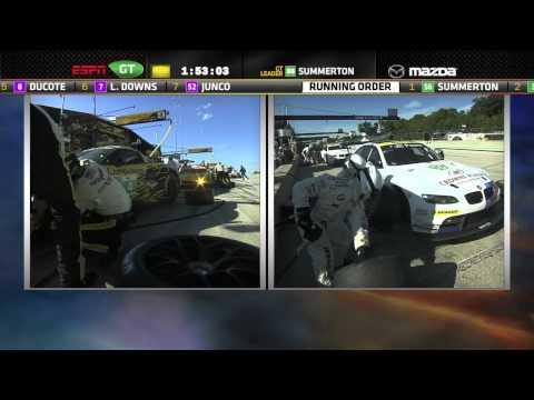 2012 Road America Race Broadcast - ALMS - Tequila Patron - ESPN - Racing