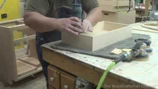Building Custom Oak Cabinets Episode 6-Making The Drawers