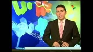 TITULARES - TELESUR - sábado, 25 de abril de 2015 AM