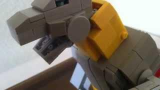 getlinkyoutube.com-Lego Transformers G1 Grimlock