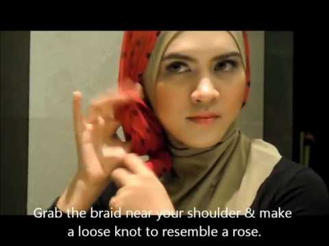sixteenR.com PolkaDot Tutorial- 3 Ways to Style a Head Scarf