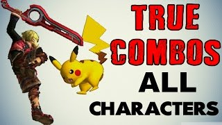 getlinkyoutube.com-True Combos with ALL Characters! (Smash 3DS/Wii U)