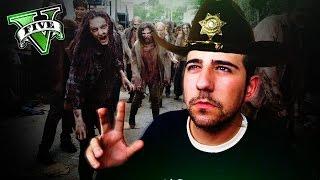 getlinkyoutube.com-GTA V PC MODS - SUPERVIVENCIA THE WALKING DEAD LOS SANTOS ! - ElChurches
