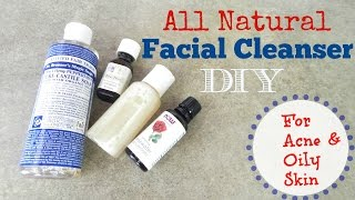 getlinkyoutube.com-DIY Facial Cleanser Recipe I Acne Prone Skin (All Natural Ingredients)