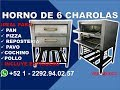Horno de 6 Charolas - Grupo Halley