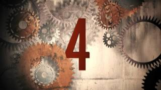 Old Film Countdown | Gears Cranking | HD | Snowman Digital |