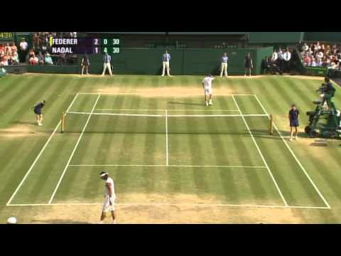 Roger Federer vs Rafael Nadal -- Wimbledon 2007 Final Highlights