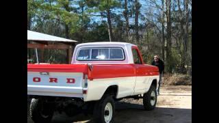 getlinkyoutube.com-1972 Ford F250 High Boy 4X4