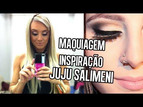 Maquiagem Inspiração Juju Salimeni   by @Sehziinha