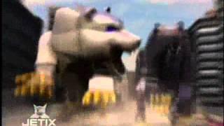 getlinkyoutube.com-Power Rangers Wild Force - Bear Zords