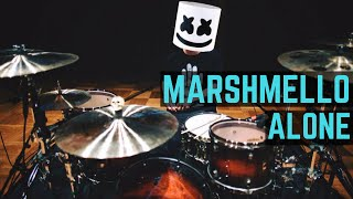 getlinkyoutube.com-Marshmello - Alone - Drum Cover