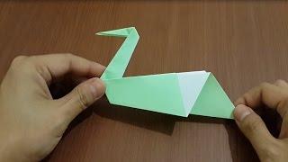getlinkyoutube.com-Cara Membuat Angsa Dari Kertas Origami - Gampang Banget