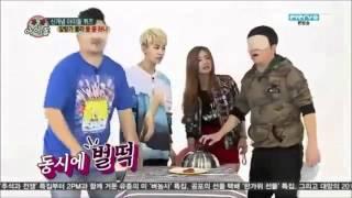getlinkyoutube.com-131106 Bomi & Ilhoon Hoonmi Weekly Idol Cuts