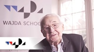 "getlinkyoutube.com-Andrzej Wajda about ""Joanna"" - Wajda School and Studio"