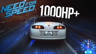 getlinkyoutube.com-Need for Speed 2015 1000HP+ Supra Drag Build Gameplay & Multiplayer Street Racing!