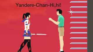 Yandere Simulator in Happy Wheels!