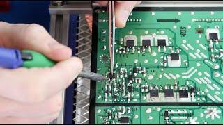 getlinkyoutube.com-Samsung TV Repair - BN96-16510A / LJ92-01796A X Main Board Component Repair Kit - No Power