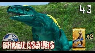 getlinkyoutube.com-Legendary Brawlasaurs!   Jurassic World: The Game [Episode 43]
