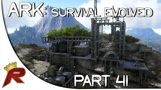 "getlinkyoutube.com-Ark: Survival Evolved Gameplay - Part 41: ""Massive Castle Build?!"" (Early Access)"