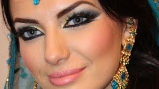 getlinkyoutube.com-Exotic Arabic Makeup Real Princess Jasmine Makeup  ماكياج العربي