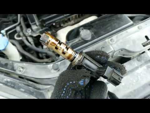 Замена уплотнительного кольца на клапане CVVT Hyundai Tucson JM