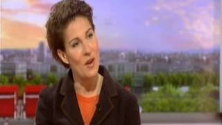 getlinkyoutube.com-Tamsin Greig on BBC Breakfast - Women on the Verge of a Nervous Breakdown
