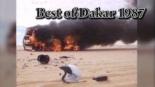 getlinkyoutube.com-Best of Rally Dakar Rallye 1987 Crash Maximum Attack