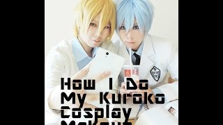 getlinkyoutube.com-【YK】Kuroko Tetsuya Cosplay Makeup 黒子のバスケ 黒子テツヤコスプレメイク