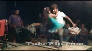 getlinkyoutube.com-Bhojpuri Hot Sexy Arkestra Stage Dance Show Video Song #20