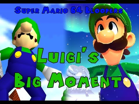 Super Mario 64 Bloopers: Luigi's Big Moment