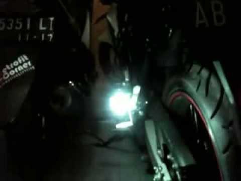 HID as turn signal lamp :D