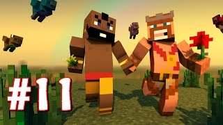 "getlinkyoutube.com-""HOG RIDER VISITS! - CREEPER BASE RAID!"" | Minecraft Clash Of Clans King's Survival Part 11"