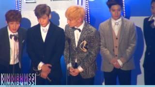 getlinkyoutube.com-[HD fancam] 130131 seoul music awards - SHINee & jimmy jib ^_T table 4 (본상 받았어요!)