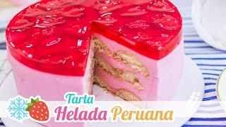 getlinkyoutube.com-Tarta Helada Peruana | Postre sin Horno | Quiero Cupcakes!
