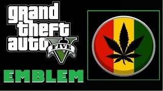 getlinkyoutube.com-Grand Theft Auto 5 / GTA5 : Cannabis Leaf Emblem Tutorial