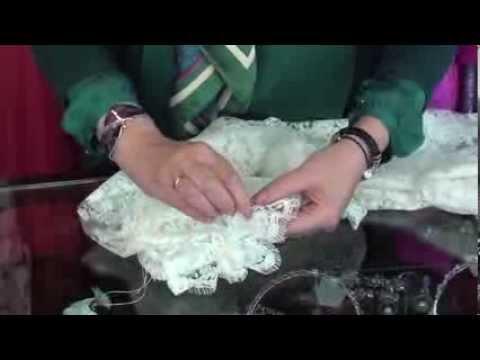Tutorial 2: Como preparar la mantilla de novia