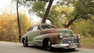 ICON 1946 Oldsmobile Derelict Detailed Overview 4k video!