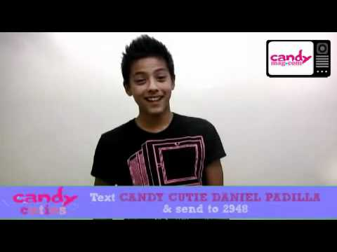 Daniel Padilla for Candy Cutie..