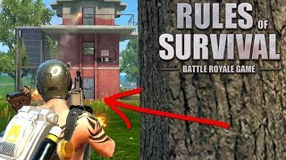 Clutch Grenade Launcher Finish! (Rules of Survival: Battle Royale #120)
