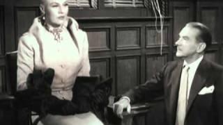 """getlinkyoutube.com-Clifton Webb vs. Ginger Rogers in """"Dreamboat"""" (1952)"""