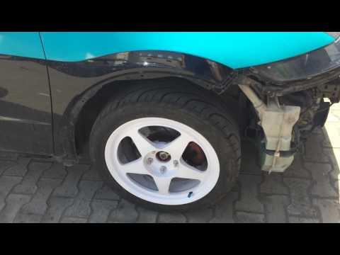 Замена задних шпилек Honda Civic TypeR
