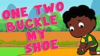 getlinkyoutube.com-Nursery Rhymes From Oh My Genius - One Two Buckle My Shoe Nursery Rhyme | Kids And Children's Song