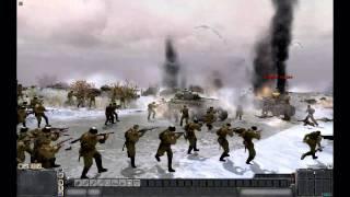 "getlinkyoutube.com-MEN OF WAR (PC): ""Judgement Day on the Don River"" -  December 11th 1942"