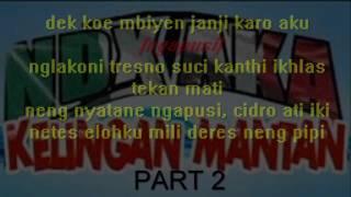 getlinkyoutube.com-Lirik NDX AKA ft. PJR - Kelingan Mantan versi 2