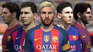 getlinkyoutube.com-Lionel Messi from FIFA 06 to FIFA 17